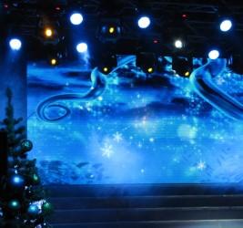 Рождественский вертеп на Первом национальном