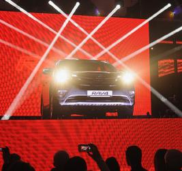 Presentation of Toyota RAV4