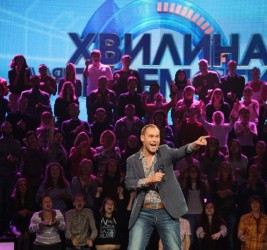 """Minute to win"" on the TV channel ""Ukraine"""