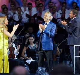 Andrea Bocelli in Kyiv